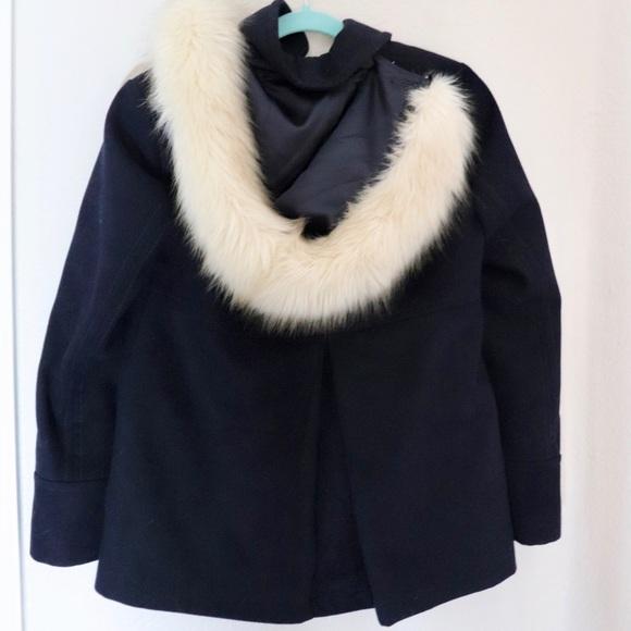 Topshop Jackets & Blazers - Topshop coat with fur
